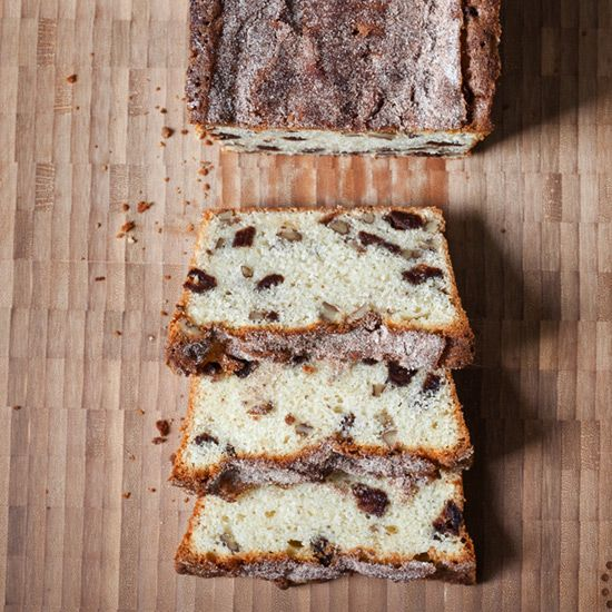 Strawberry-Pecan Quick Bread // More Brunch Recipes: www.foodandwine.c... #foodandwine