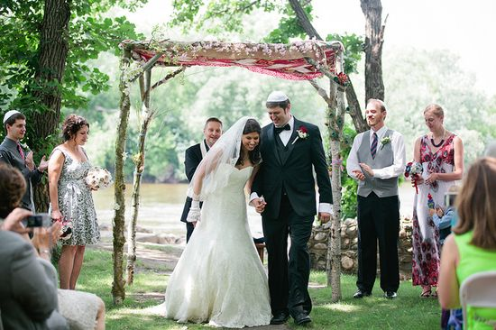 Awesome huppah,  @Offbeat Bride
