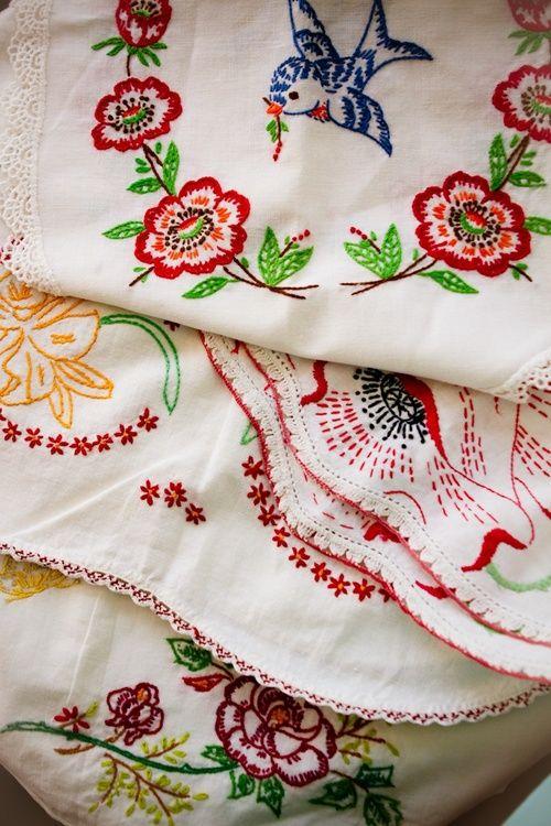 Vintage embroidery design