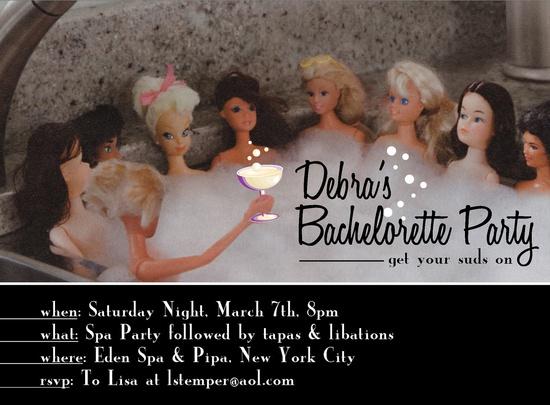 Hahaha! Cute bachelorette party invite
