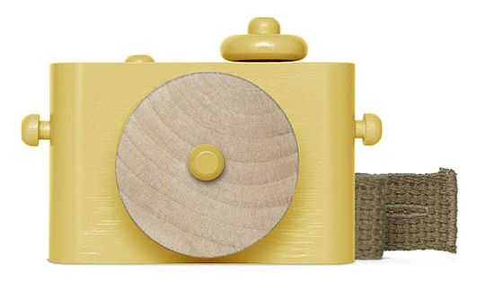 Pixie - wooden toy camera, two-tone w/o cork bottom - Twig Creative