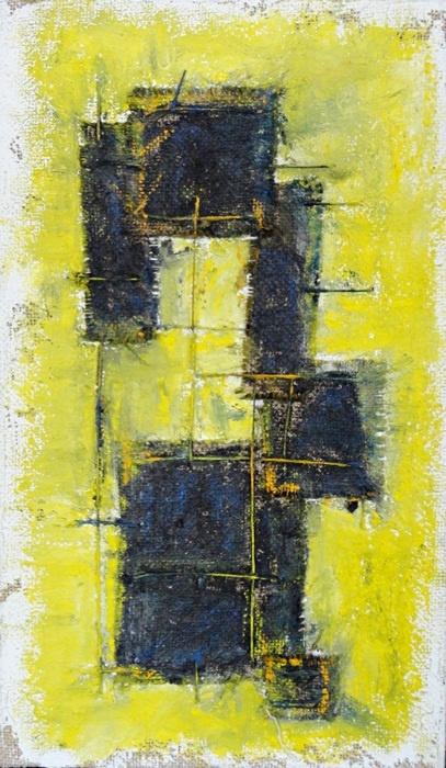 #Abstract #painting. Antonio Basso. Space Occupancy 9