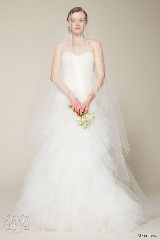 Marchesa Bridal Spring 2013 Wedding Dresses