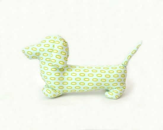 Dachshund pillow - custom colors and sizes available! :)