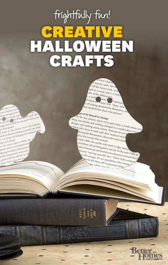Scare up some fun with these easy Halloween crafts: www.bhg.com/...