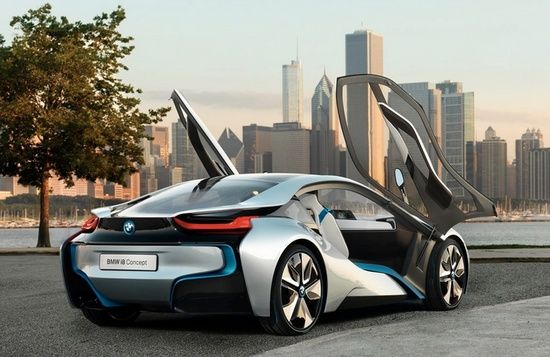 BMW i8 Concept making hybrid cars #customized cars #luxury sports cars #sport cars #ferrari vs lamborghini