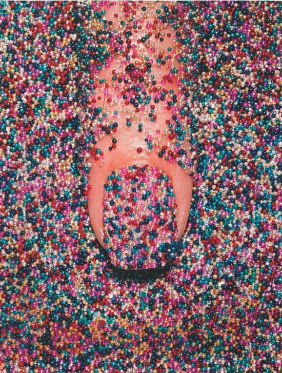 Sprinkle coated. #NailArt