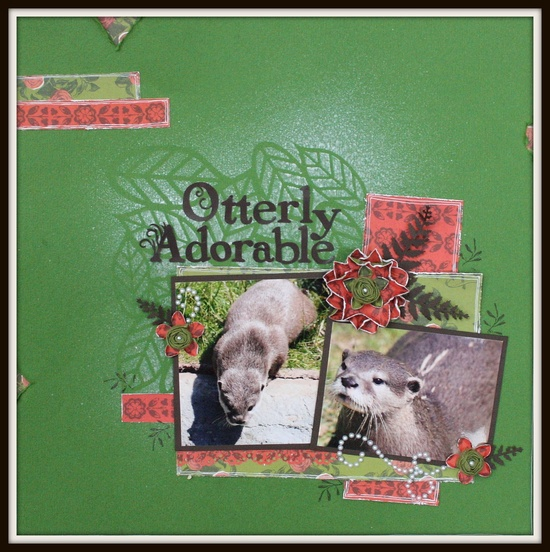 Otterly Adorable - Scrapbook.com