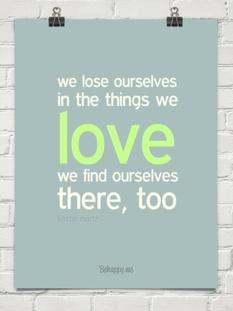 Lose yourself in love by kristin martz