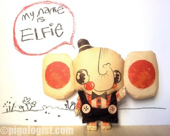 Elfie the elephant ? Pigologist