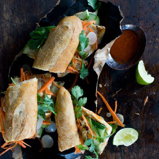 Spicy Vietnamese Chicken Sandwiches // More Amazing Sandwiches: www.foodandwine.c... #foodandwine