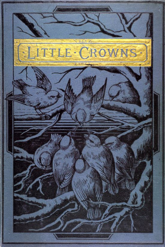 Little crowns #birds #vintage #book #cover