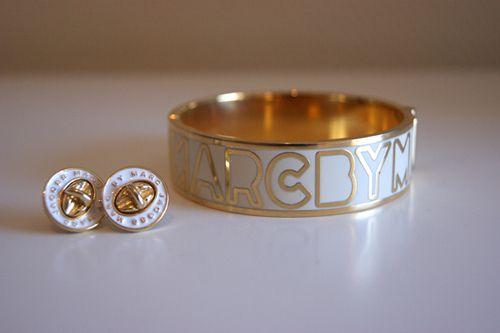 Marc by Marc Jacobs Earrings & Bracelet