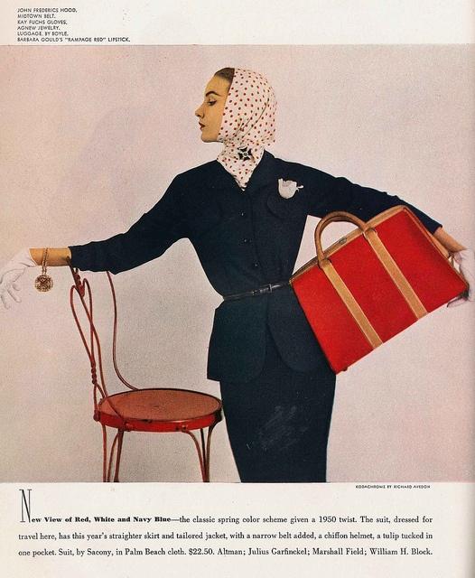 Vogue 1950 by Richard Avedon