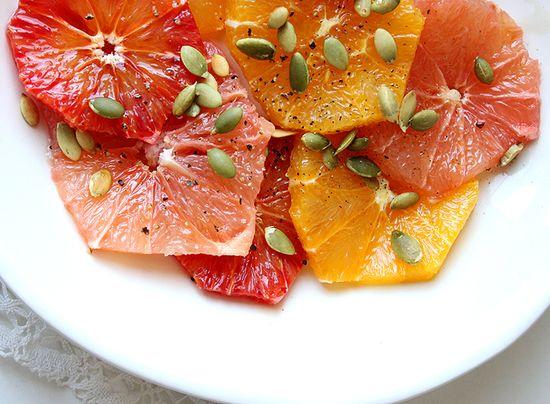 Sunshine Citrus Salad by mynewroots #Salad #Citrus