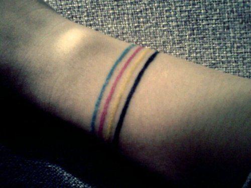 CMYK #tattoo