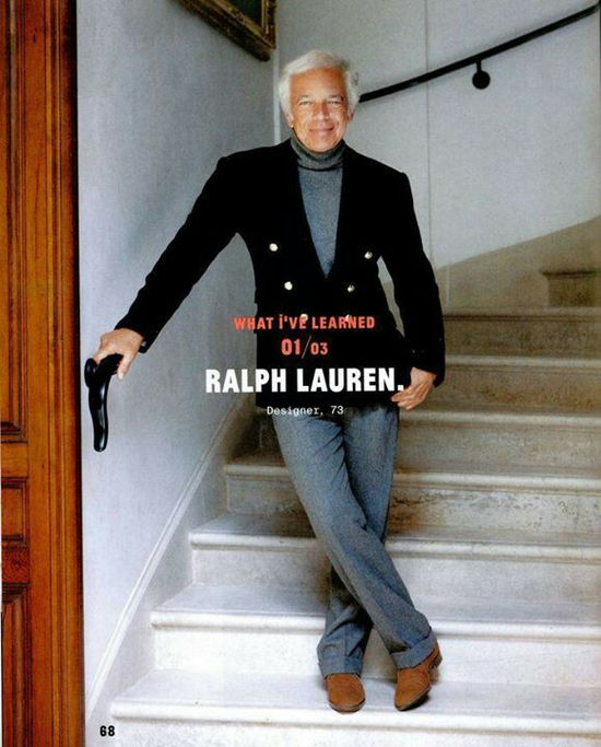Men's fashion Ralph Lauren