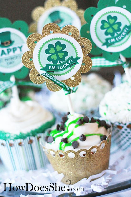 Free St. Patrick's Day printables - HowDoesShe.com