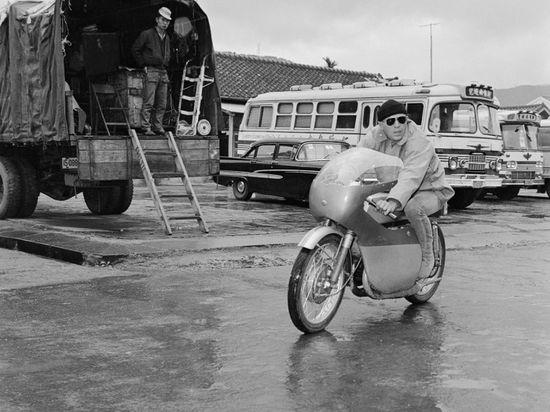 McQueen in Taiwan - Pipeburn - Purveyors of Classic Motorcycles, Cafe Racers & Custom motorbikes