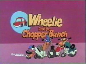 Wheelie and the Chopper Bunch. 70s cartoons