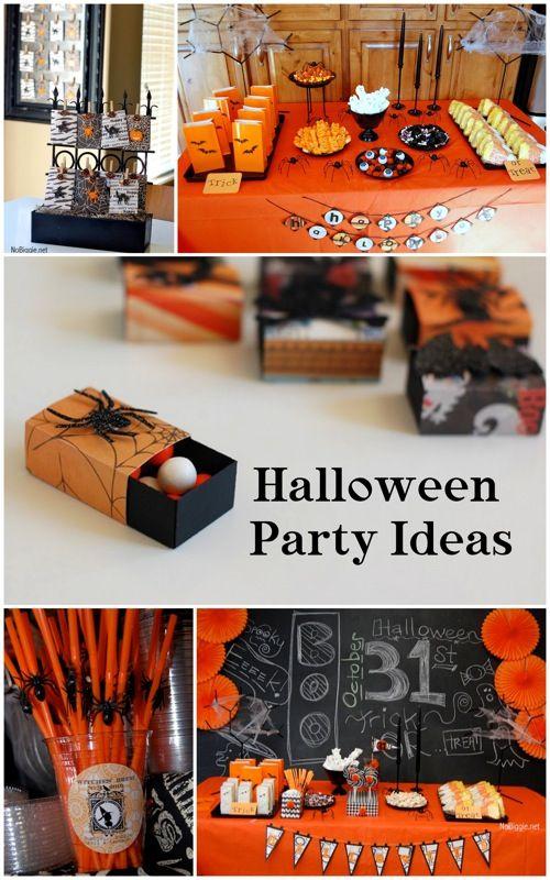 #Halloween party ideas NoBiggie.net