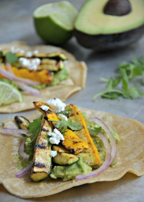 Taco Tuesday Grilled Summer Squash Tacos