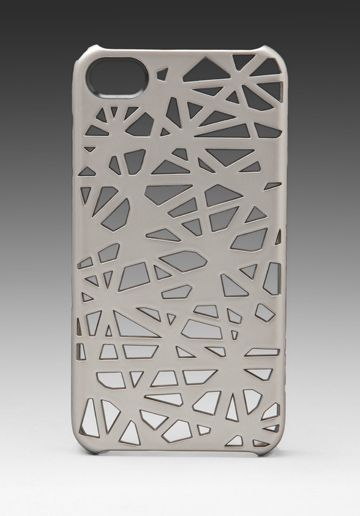 Metallic Bird's Nest Snap iPhone 4 Case