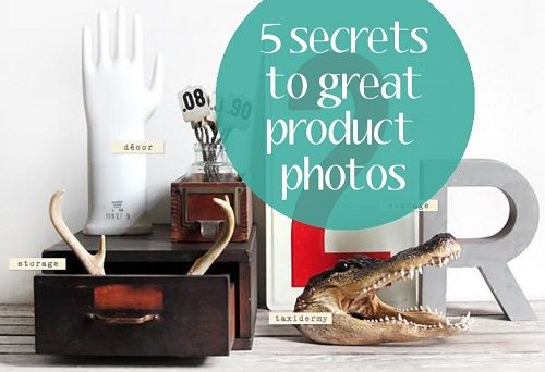 5 secrets to product photography