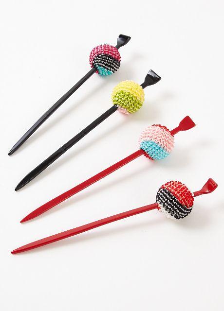 Japanese hair accessory for kimono, Kanzashi ?