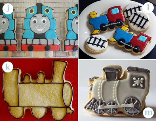 21 Ways to Frost Train Cookies