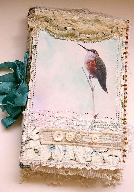 lovely handmade journal by DJ Pettitt