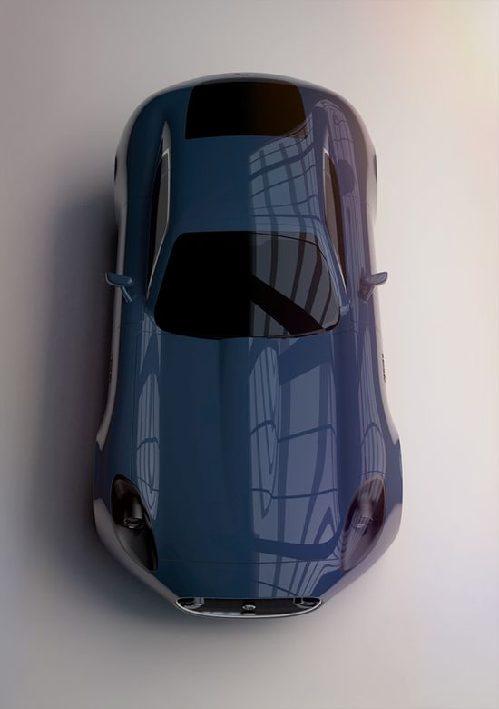 2012 Jaguar E-Type Concept..I love you.