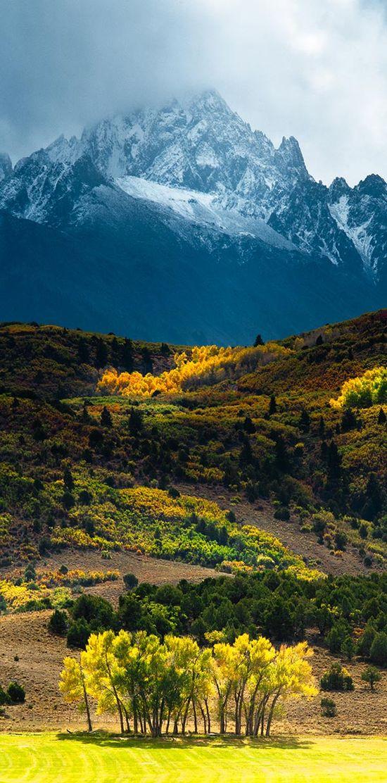 Contrast – Mount Sneffels – Colorado