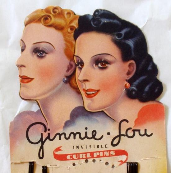 Vintage Hair Pin Package