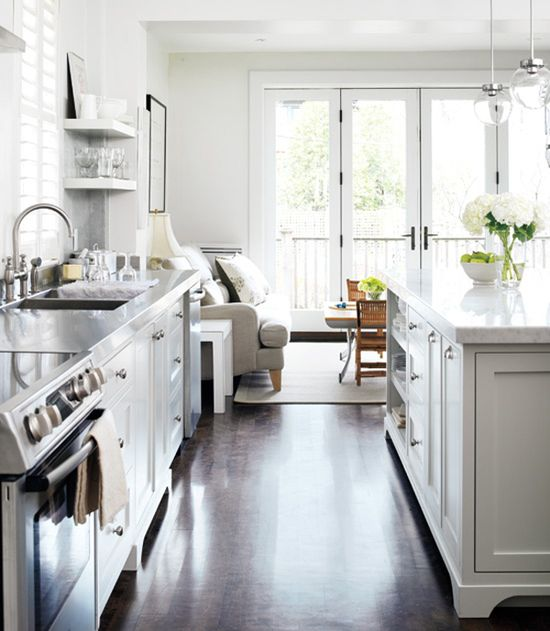 REMODEL 2 IDEA: Open kitchen layout - take out wall