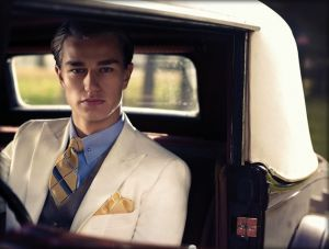 modern 1920s #great #gatsby inspired menswear by brooks brothers : #lovewearyoulive