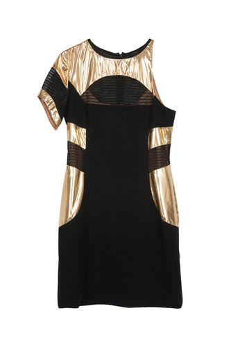 Golden Labyrinth Dress. via The Cools