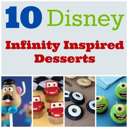 10 Disney Infinity Inspired Desserts
