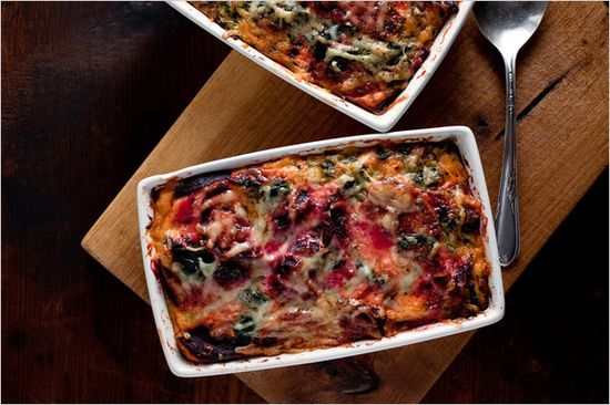"Beet Gratin. I really should start a new board titled ""Golden Beet Obsession."" Would that be weird?"