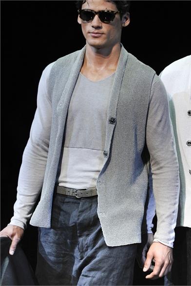 Emporio Armani - Moda Uomo Primavera Estate 2013