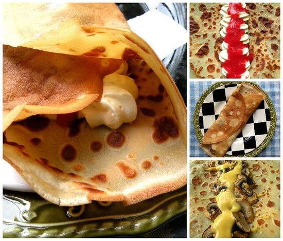 Perfect Crepes, Sweet and Savory