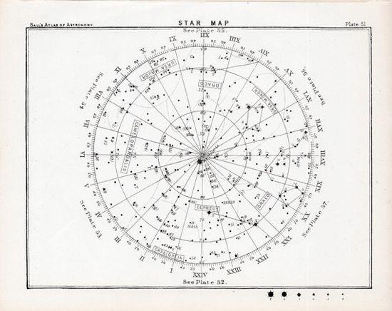 ? 1892 star map