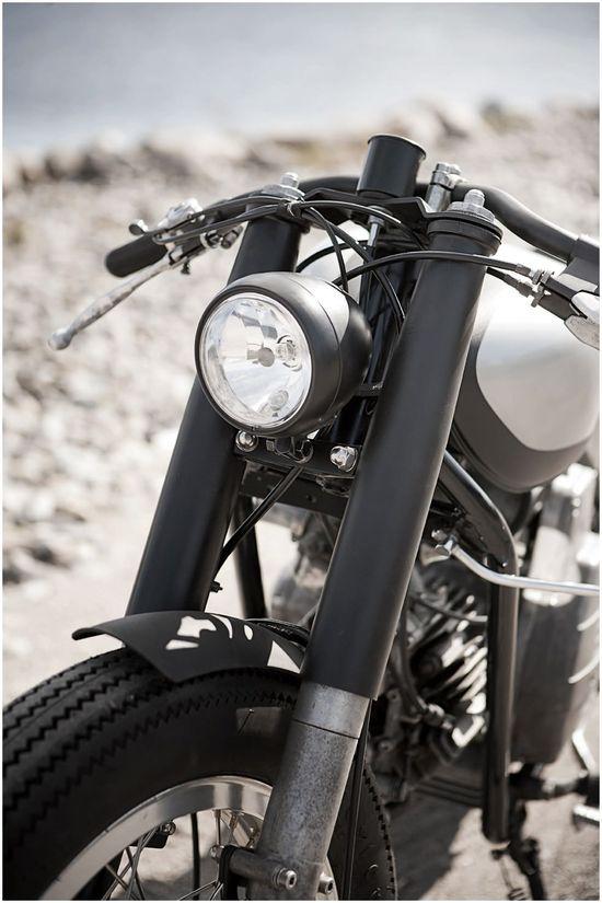 Moto Guzzi Nuovo Falcone by The Wrenchmonkees
