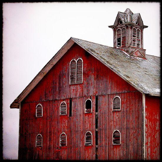 Barn located in Wood City, Ohio.