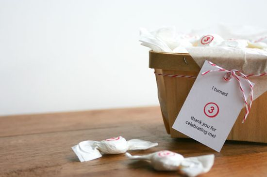 Stamped Party Favors DIY