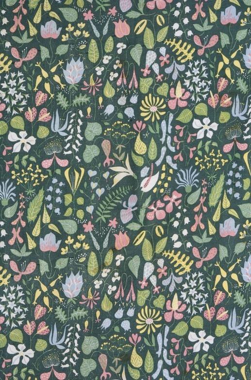 Stig Lindberg Textile @Taheera Rosheena Mohamed pattern ni pun cantik kalau buat baju kurung, kan??