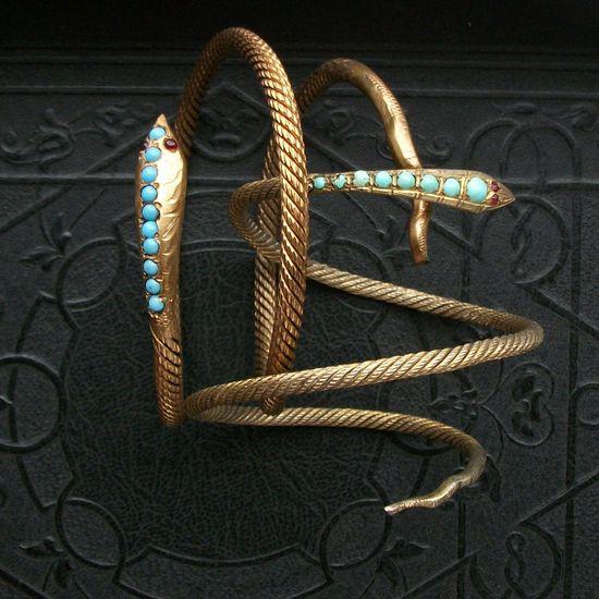 Antique Snake Bracelet