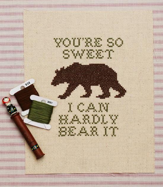 hardly bear pattern