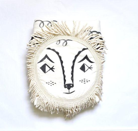 Heirloom+Lion+Blanket+by+romawinkel+on+Etsy,+$150.00