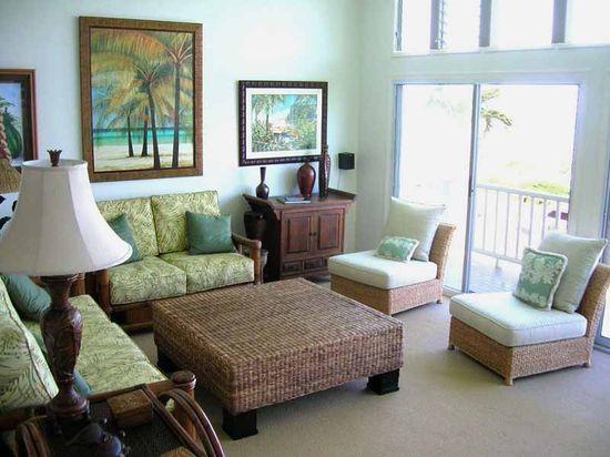 20 Tropical Living Room Design